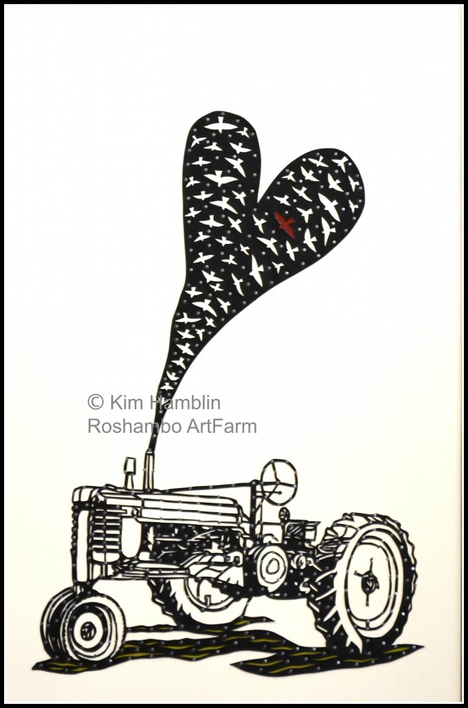 For the Love of Farming, frame & watermark